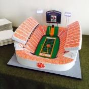 Clemson Memorial Stadium Cake