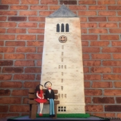 Cornell Clock Tower Cake