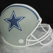 Dallas Cowboys Helmet Cake