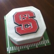 NC State Football Cake