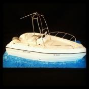 3D Boat Cake