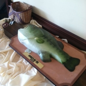 Largemouth Bass Cake