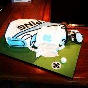 UNC Golf Bag Cake