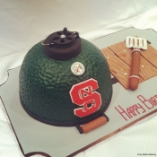 Big Green Egg Cake