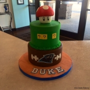 Gamer/Sports Themed Cake