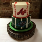 Sports Theme Groom's Cake