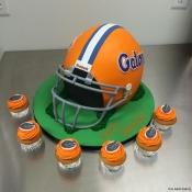 Florida Gators Helmet Cake