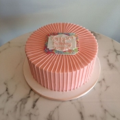 Vintage Lilly Pulitzer Cake