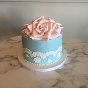Large Flower Cake