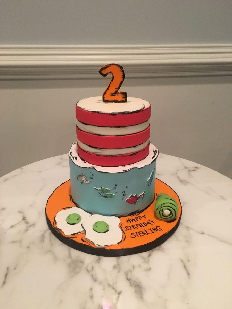 Dr Seuss Cake One Belle Bakery