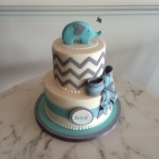 Cute Elephant Themed Baby Shower