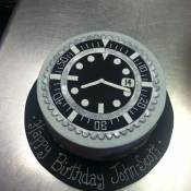 Watch Themed Cake