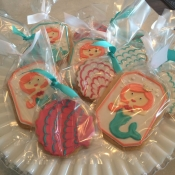 Mermaid Sugar Cookies
