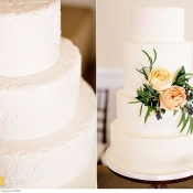 Lace and Textured Buttercream