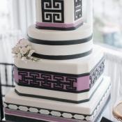 Modern Purple Cake