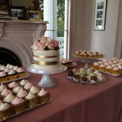 Dessert Bar Wedding Cake