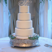 Bling Wedding Cake Topper