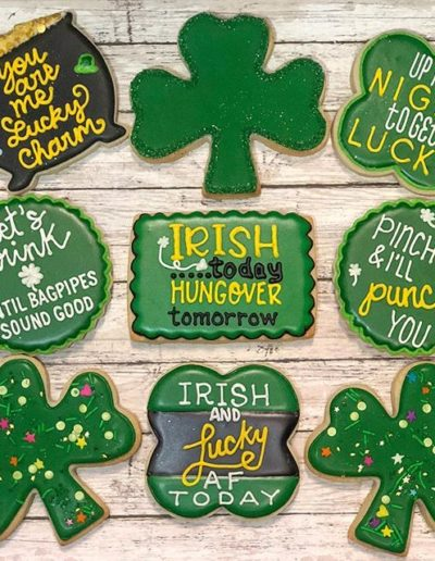 OneBelleBakery-DecoratedCookies-StPaddysDay