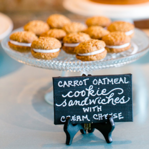 Cookie Sandwiches - Carrot